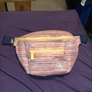 Reebok Rainbow Stripe Belt Bag
